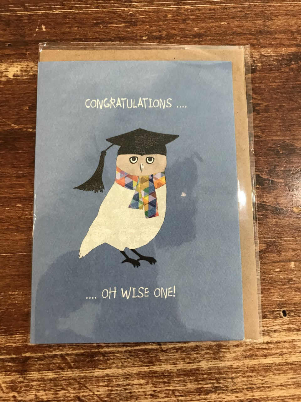 Calypso Graduation Card-Oh Wise One