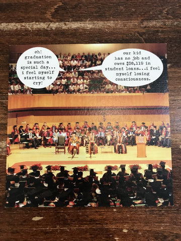 Peacerev Graduation Card-Losing Consciousness