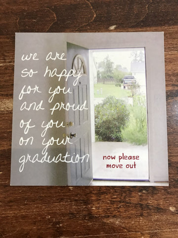 Peacerev Graduation Card-So Happy For You