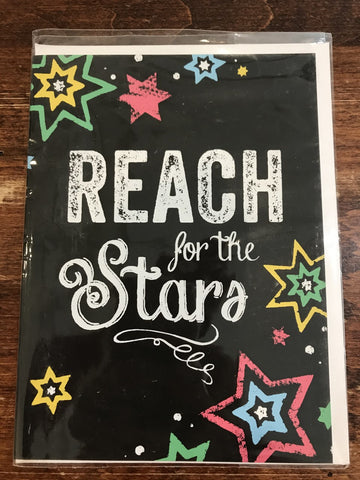 Great Arrow Graduation Card-Reach for the Stars