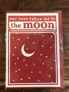 A Smyth Co. Love Card-Moon