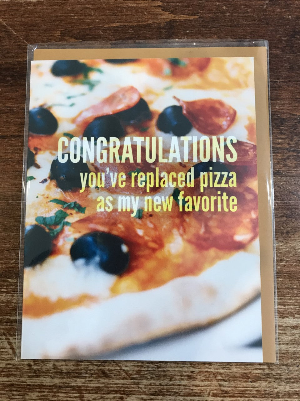 Middle Child Made Love/Friendship Card-Pizza Favourite