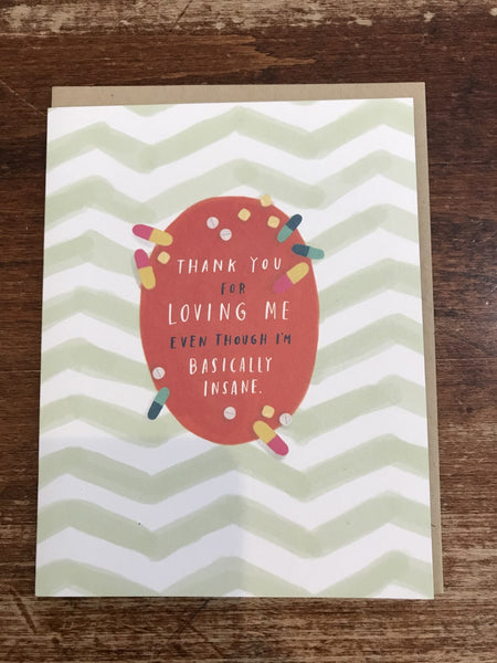 Emily McDowell Love/Friendship Card-Thank You For Loving Me