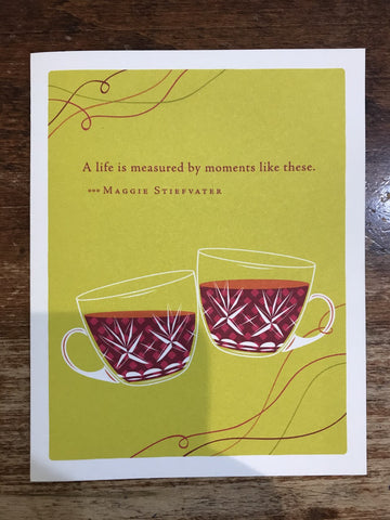 Compendium Congratulations Card-A Life is Measured