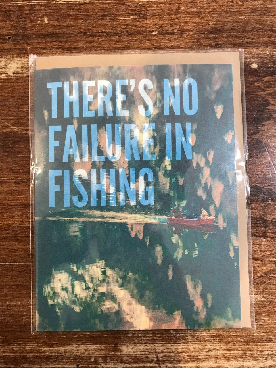 Middle Child Made Just For Fun Card-Fishing Failure