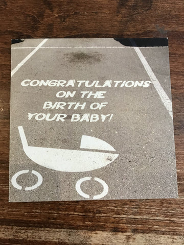 Peacerev Baby Card-Parking Space