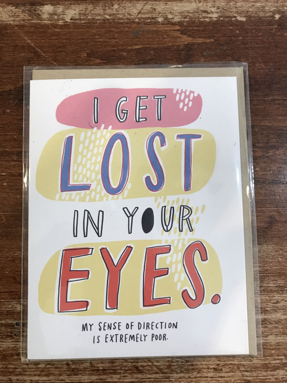 Emily McDowell Love Card-Lost in Your Eyes