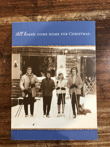 Shannon Martin Christmas Card-Come Home