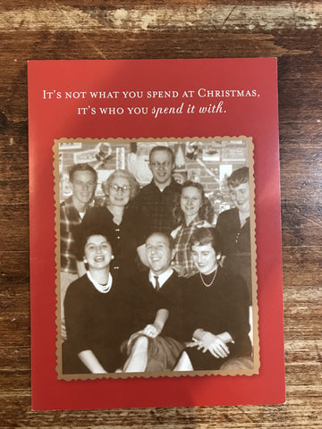 Shannon Martin Christmas Card-You Spend It With