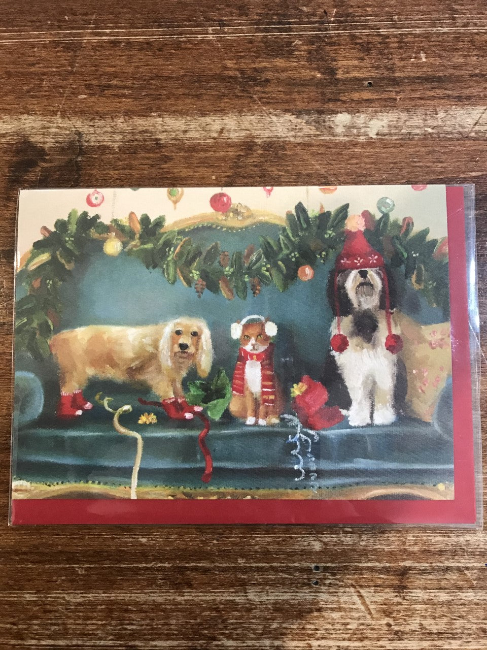 Calypso Christmas Card-It's The Thought That Counts