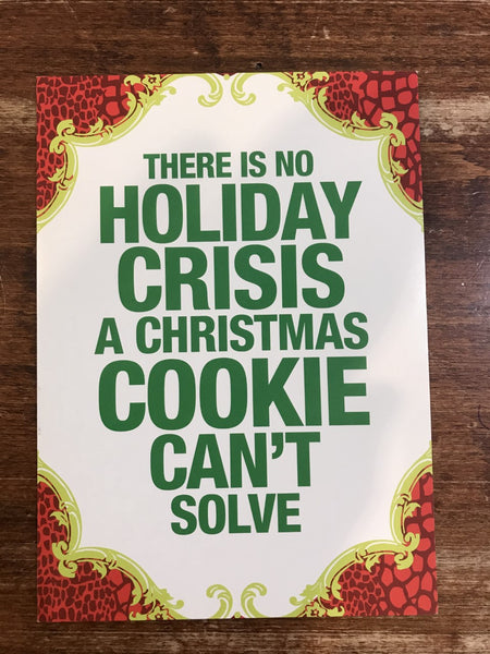 Calypso Christmas Card-Christmas Cookie