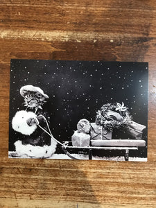 Retrospect Christmas Card-Santa Cat Still Image 1914