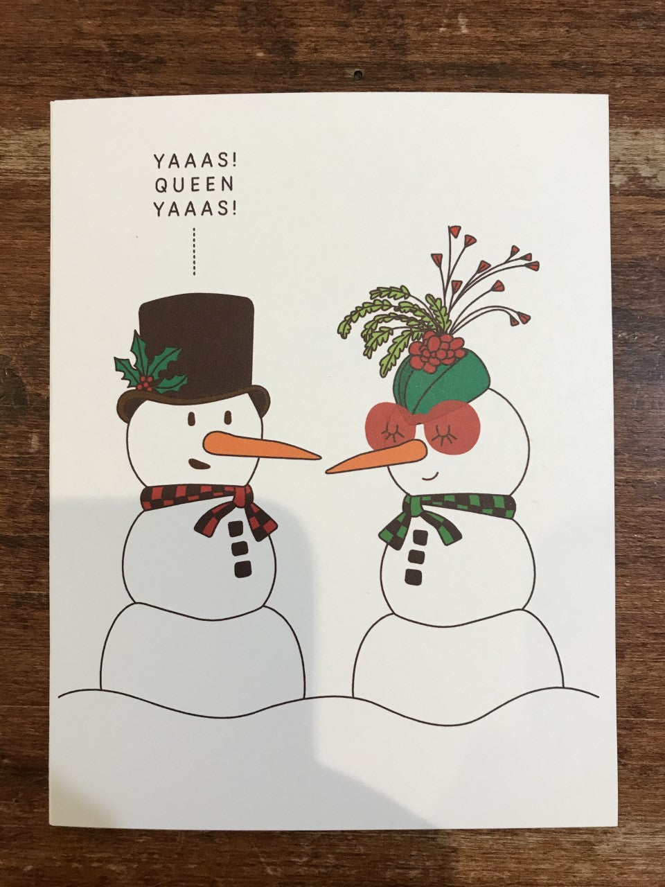 A Smyth Co. Holiday Card-Snow People