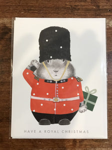Dear Hancock Christmas Card-Royal Christmas