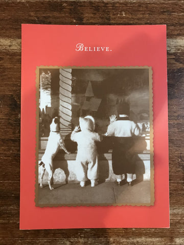 Shannon Martin Holiday Card-Believe