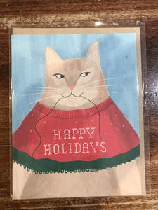 Emily McDowell Holiday Card-Cheers