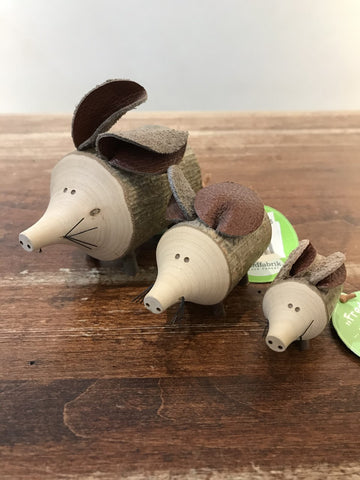 Waldfabrik Wooden Mouse Decoration