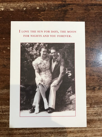 Shannon Martin Valentine's Day Card-You Forever