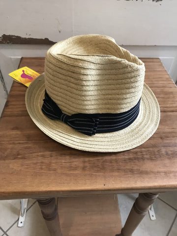 Facinie Hat-Toyo Braid Fedora