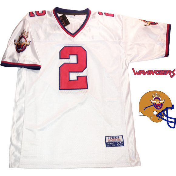 trumaine johnson 1984 arizona wranglers usfl jersey (572900671516)