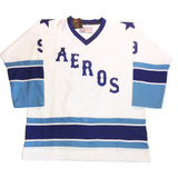 gordie howe wha houston aeros authentic jersey