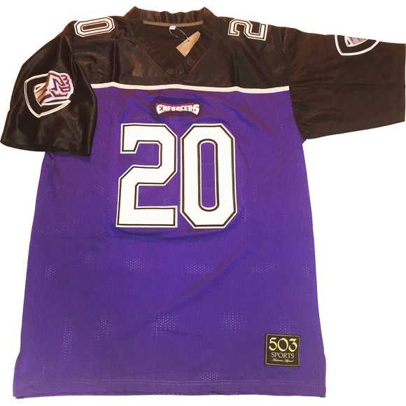 john avery chicago enforcers xfl jersey