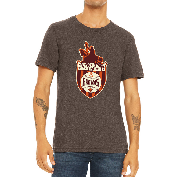 St Louis Browns Crest T-Shirt
