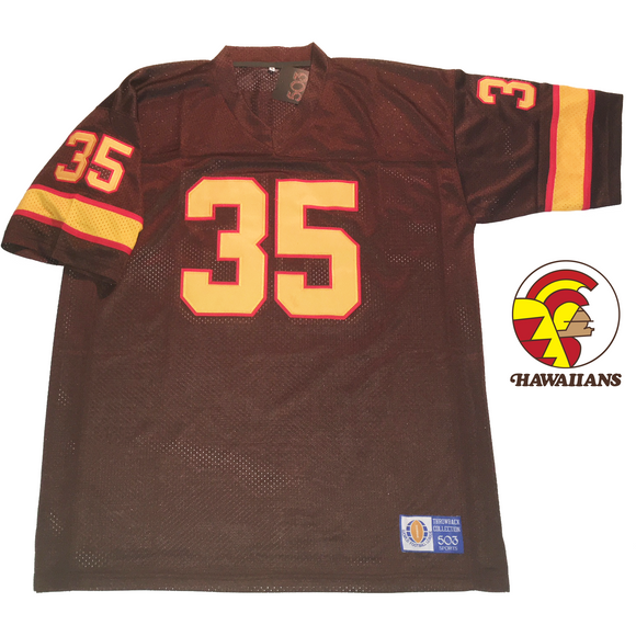 calvin hill hawaiians world football league jersey