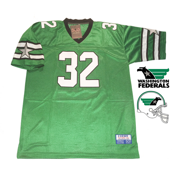 washington federals usfl jersey craig james