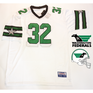 washington federals usfl jersey craig james (351538446364)