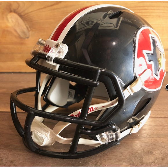 Houston Gamblers Mini Helmet