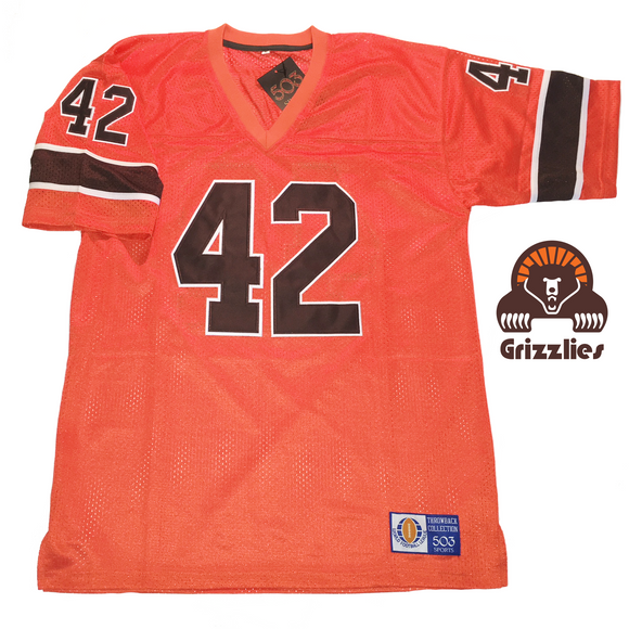 paul warfield memphis southmen jersey grizzlies