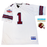 anthony carter michigan panthers usfl championship jersey
