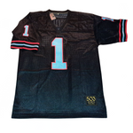warren moon houston oilers black jersey