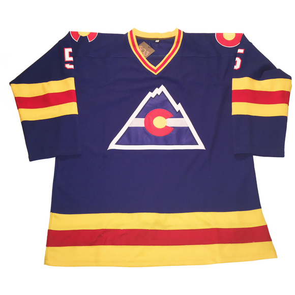 Colorado Rockies Hockey Jersey