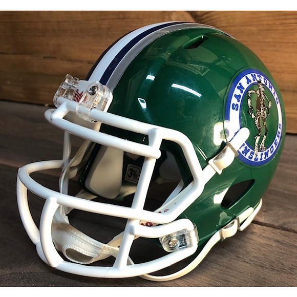 San Antonio Gunslingers Mini Helmet