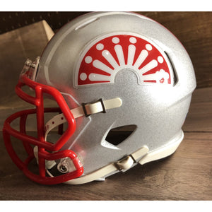 memphis showboats usfl mini helmet
