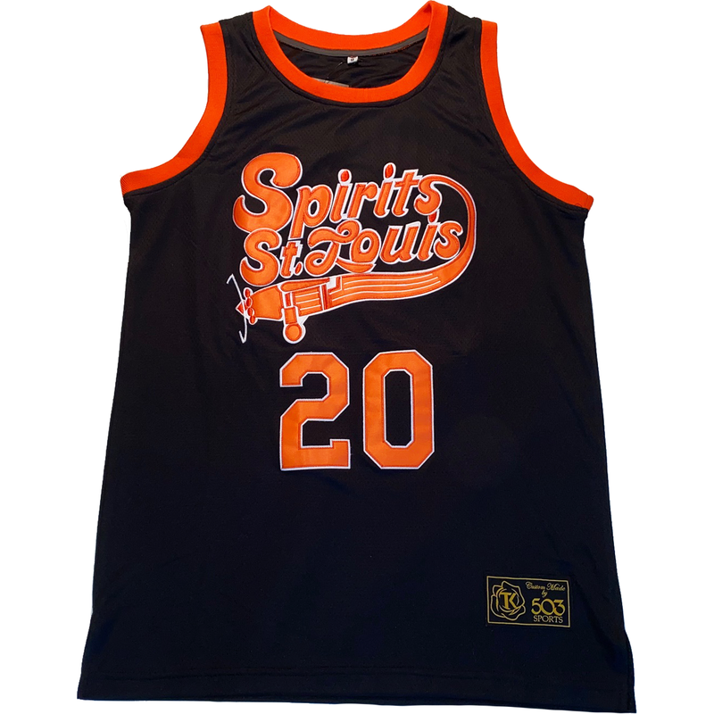 Reverse Retro Spirits of St Louis Basketball jersey #reverseretro