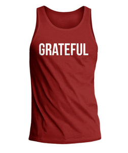 Grateful Mens Tank Top