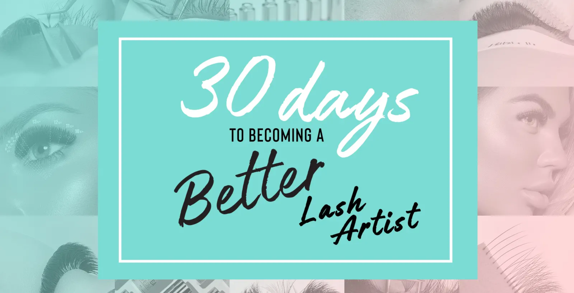 30 day to become a better lash artist #lblalevelupAU