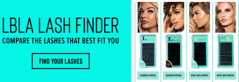 Lash finder how to select the correct professional lash extensions to work with in your studio