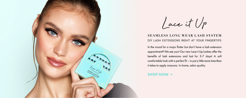At Home custom strip lashes perfect for daily wear
