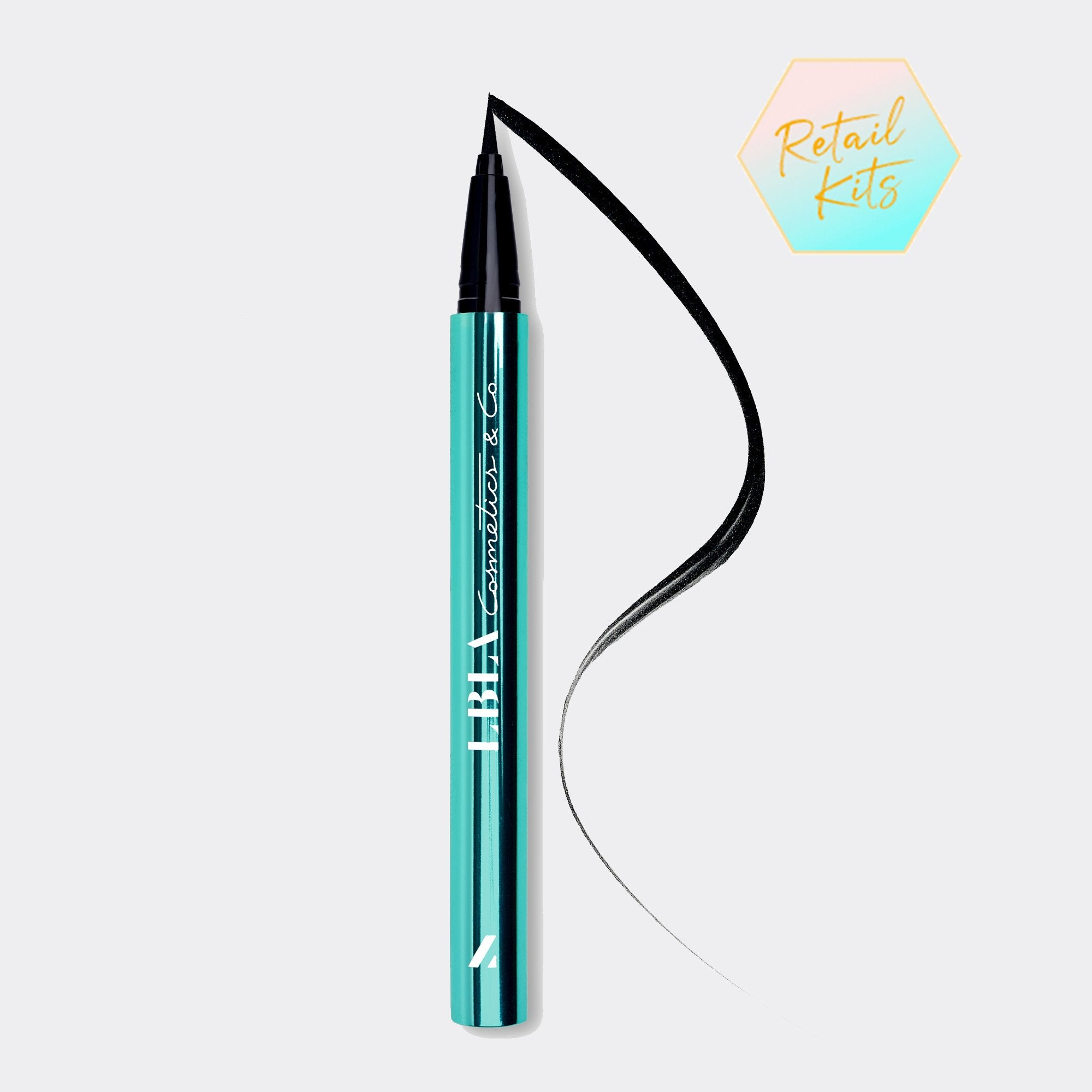 LBLA COSMETICS & CO. EVERLASTING EYELINER Eyelash extension safe liquid eyeliner