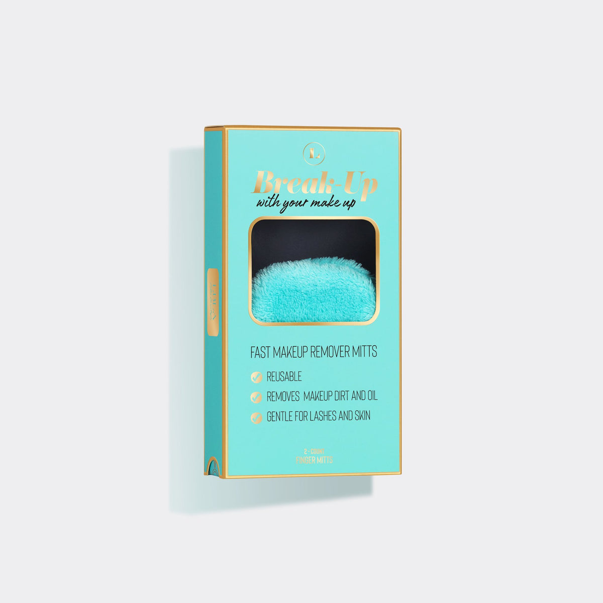 BREAK UP WITH YOUR MAKEUP - MAKEUP REMOVER MITTS