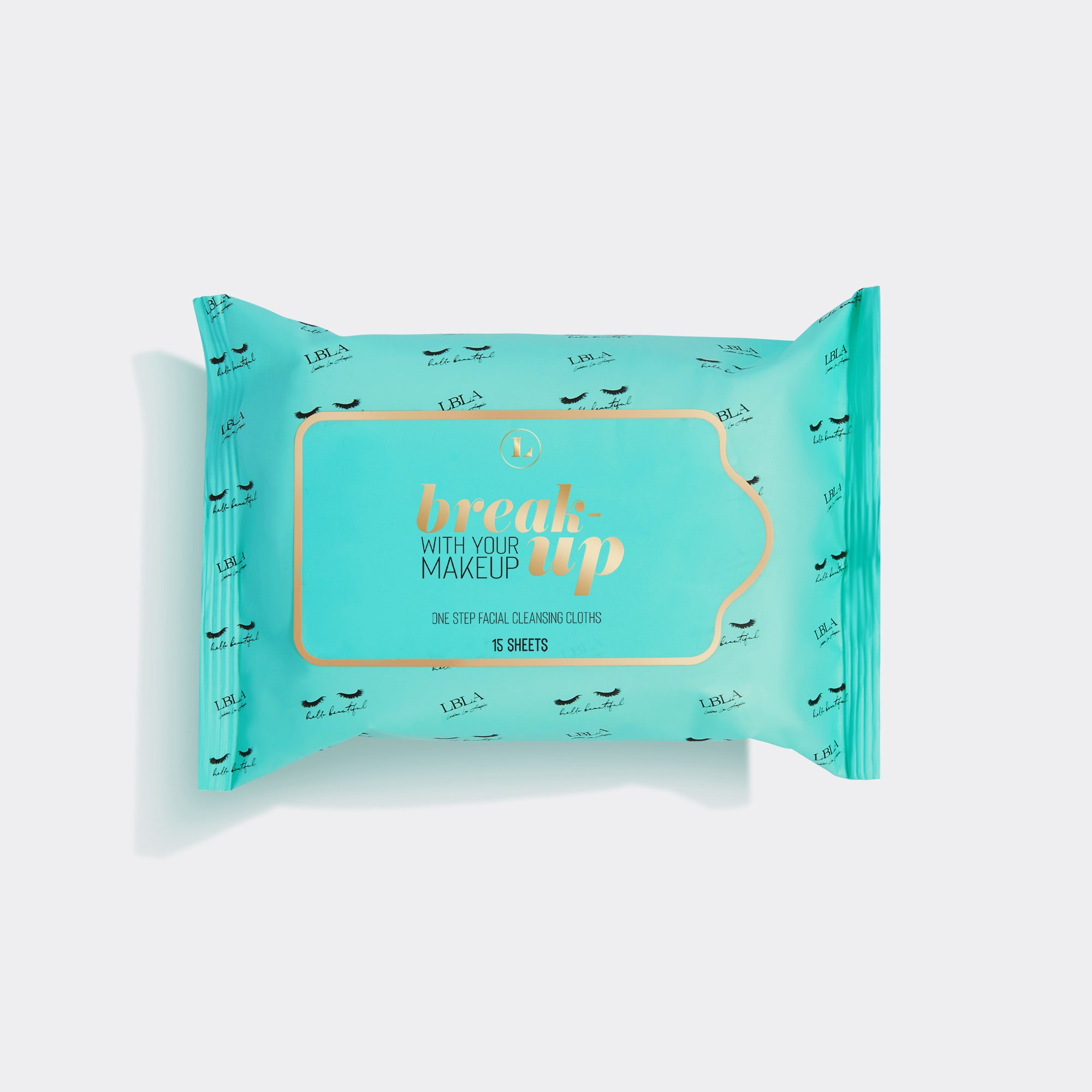 BREAK UP WITH YOUR MAKE UP WIPES TRAVEL SIZE-LashBox LA Australia