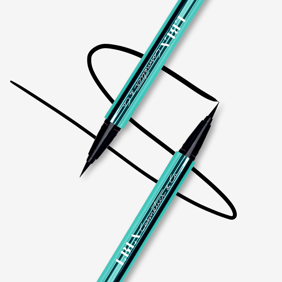 LBLA COSMETICS & CO. EVERLASTING EYELINER lash safe liquid eyeliner