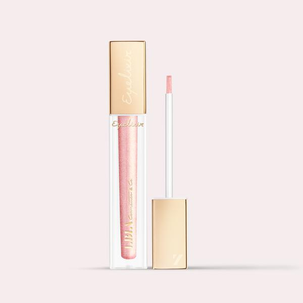 LBLA COSMETICS & CO. EYELIXIR Eye lash extension safe eyeshadow colour rose of reason, soft rose metallic