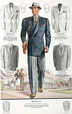 1920s Double-Breasted Suit