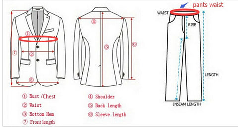 how to measure suit - scotch and rich