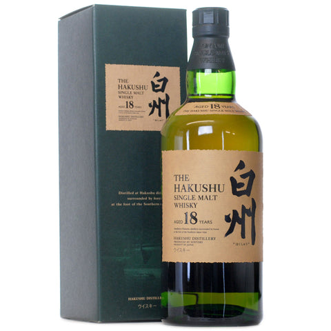 Hakushu 18 Years Old | Scotch and Rich